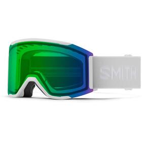 Smith Squad MAG Snow Goggles, blanco/verde